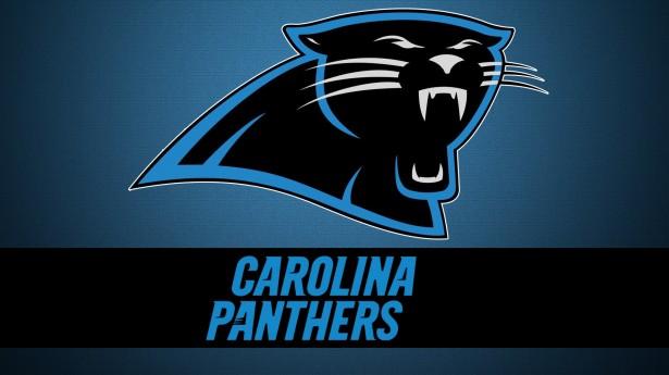 Download Carolina Panthers logo Hd 1080p Wallpaper screen size 615x345
