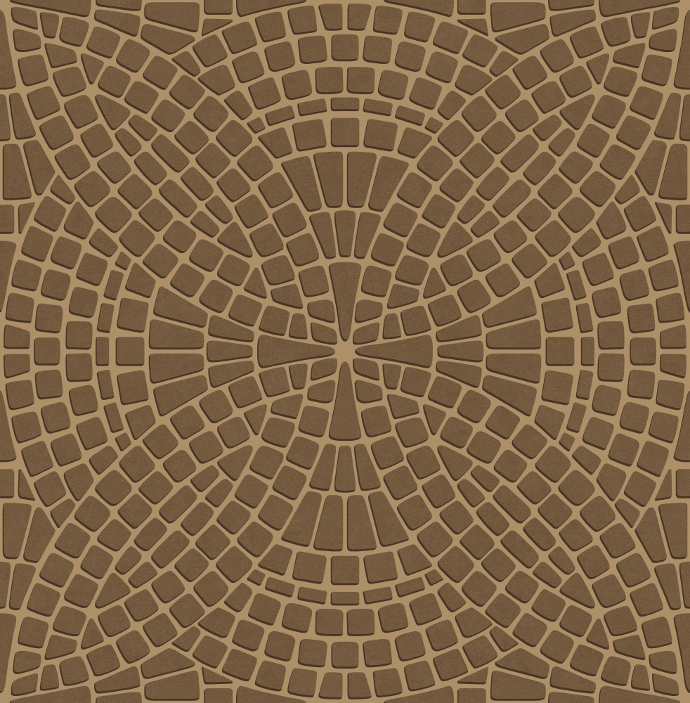 mosaic tiled effect wallpaper Featuring rich bronze brown tiles 982x1000