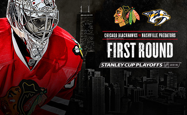 The Chicago Blackhawks will launch the 2015 Stanley Cup Playoffs the 644x396