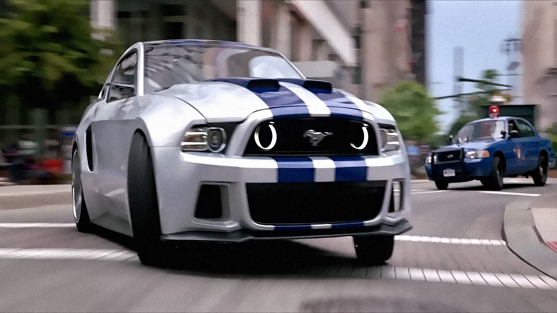 Free Download Need For Speed Action Crime Drama Ford Mustang