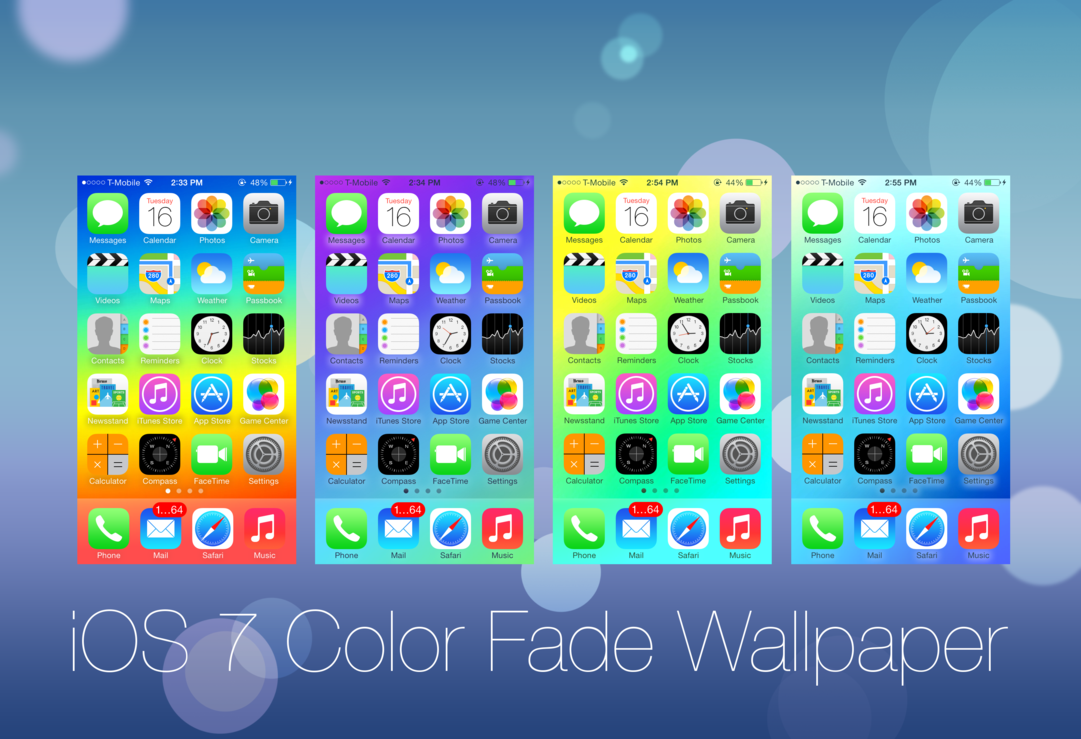 26 Color Fade Wallpapers iPhone 5 by Star784 1081x739