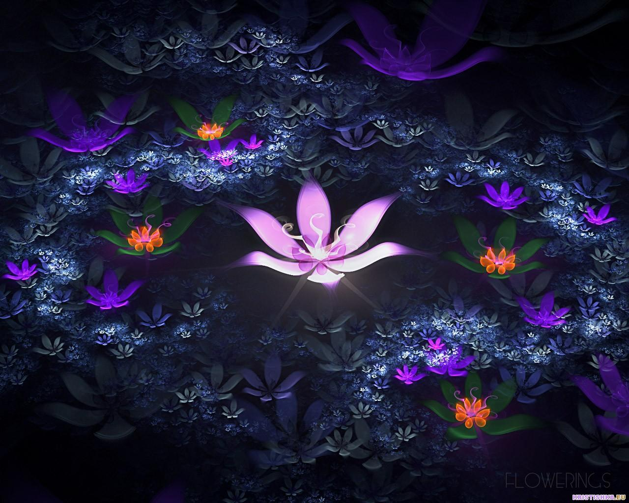 top fractal wallpapers floral - photo #6
