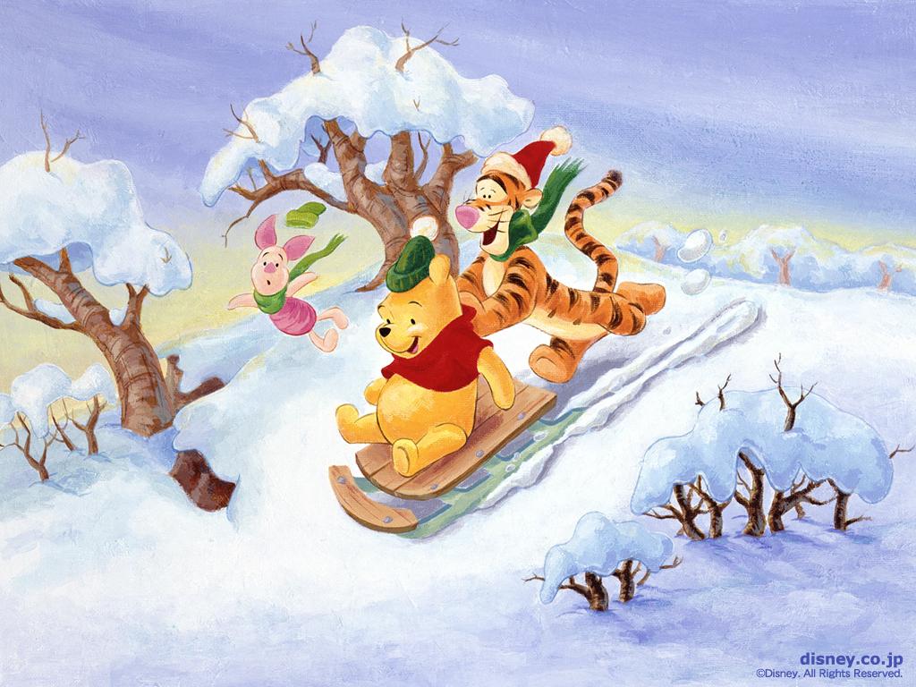 Winnie the Pooh Christmas - Christmas Wallpaper (2735479) - Fanpop