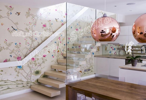 Chinoiserie Wallpaper from China best selling Chinoiserie Wallpaper 587x405