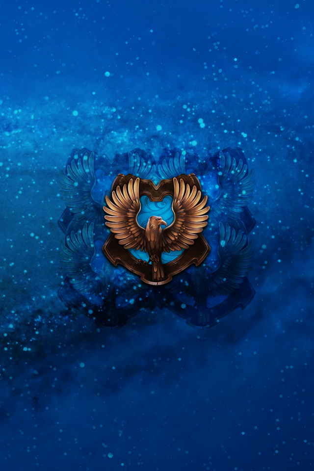 ravenclaw iphone 4 4s lock homescreen wallpaper by briely d563hztpng 640x960