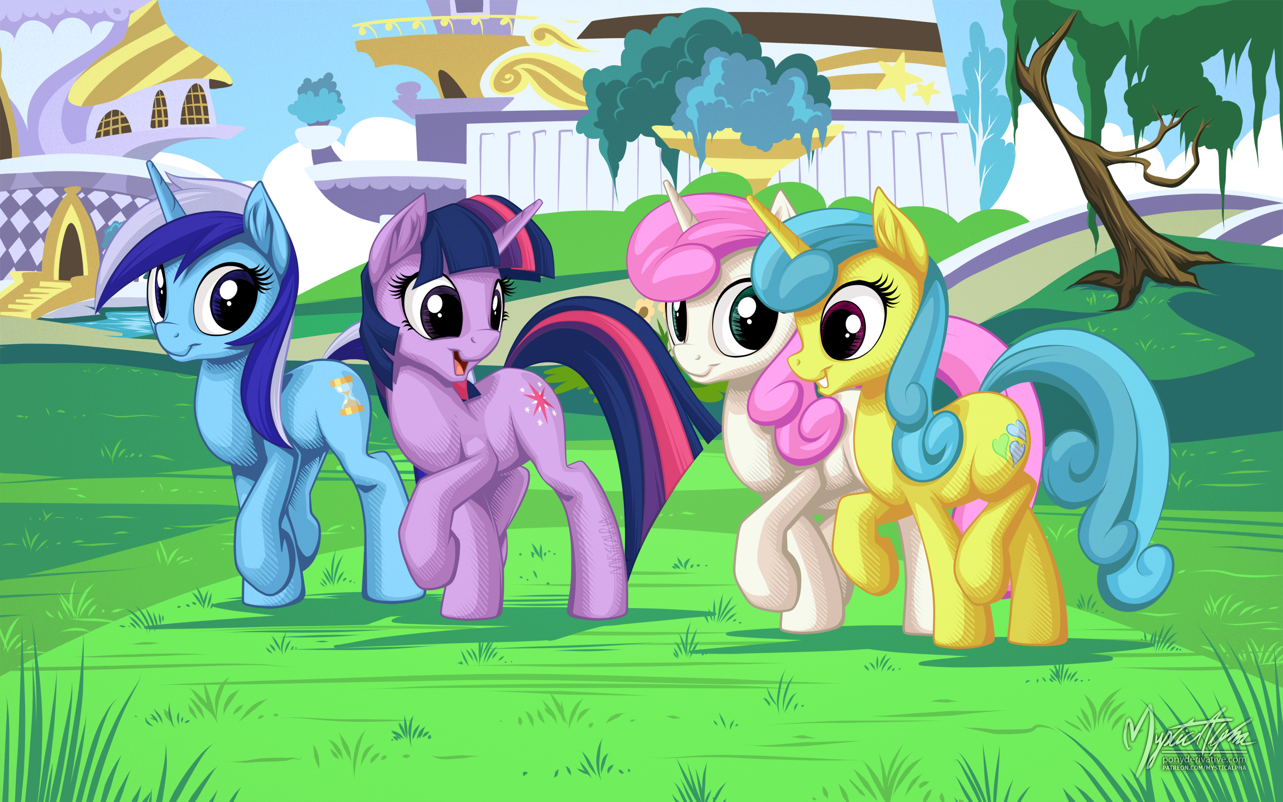 Twilight Sparkle and Friends My Little Pony Friendship is Magic 2560x1600