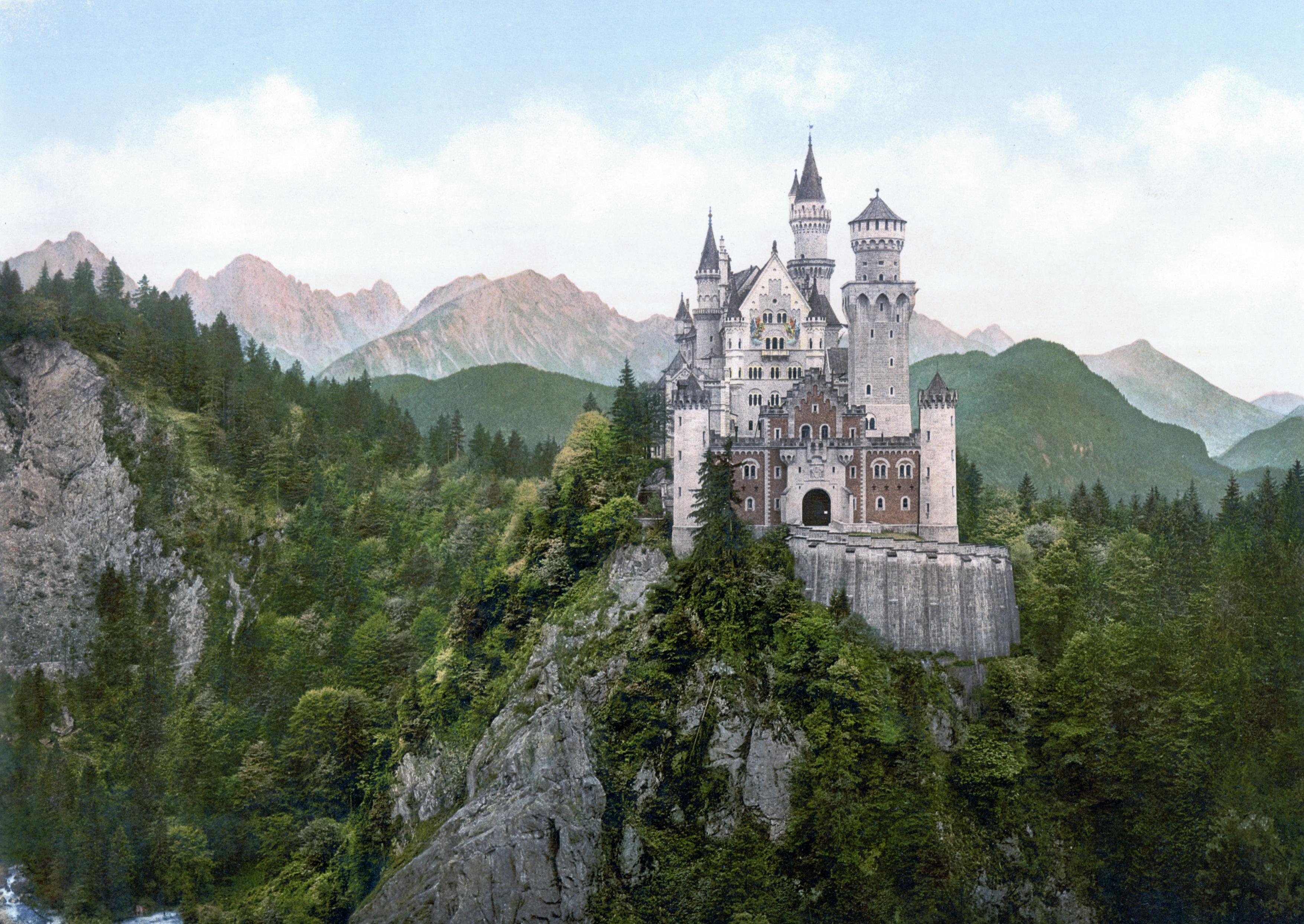 FileNeuschwanstein Castle LOC printjpg   Wikipedia the 3511x2490