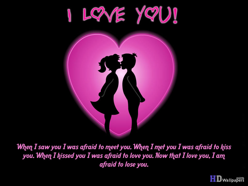 Love U Wallpaper With Quotes : I Love U Images Wallpapers - WallpaperSafari