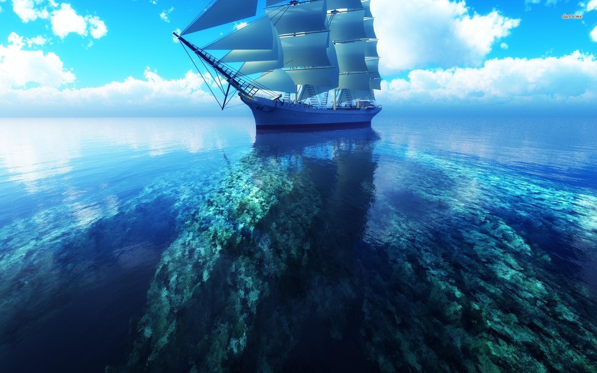 HD Sailboat Wallpaper