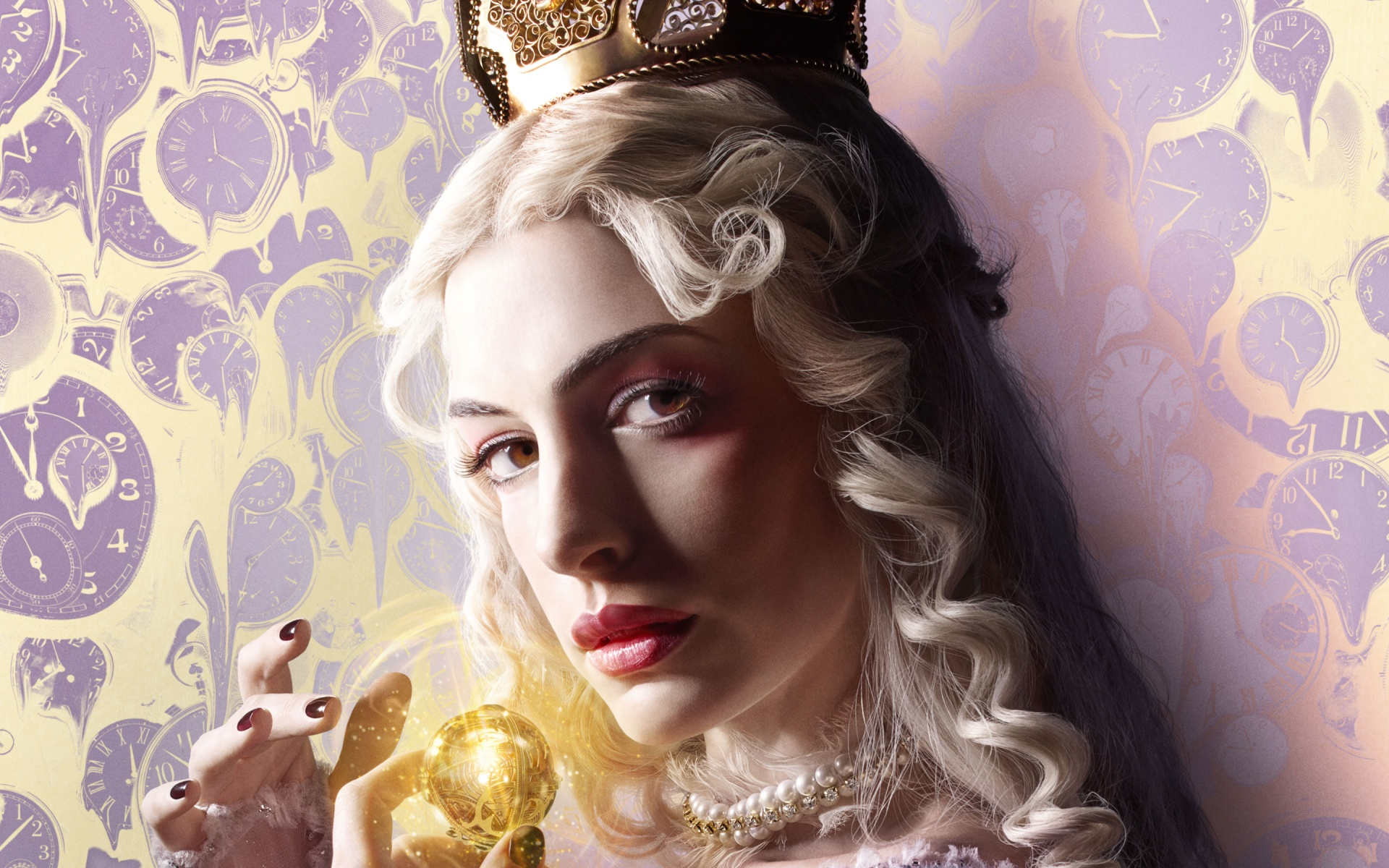 White Queen Alice Through the Looking Glass Wallpapers HD Wallpapers 1920x1200