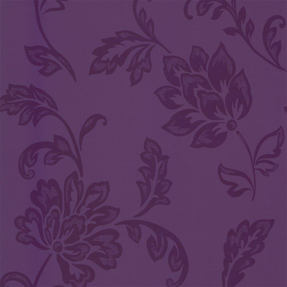 Floral Wallpaper Purple   Designer Selection from I love wallpaper UK 1000x1000