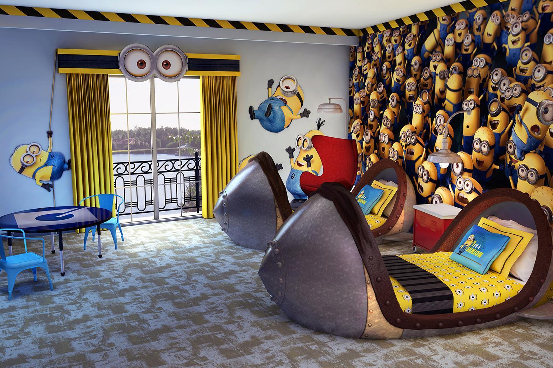 Loews Portofino Bay adds Despicable Me themed Kids Suites 1500x1000