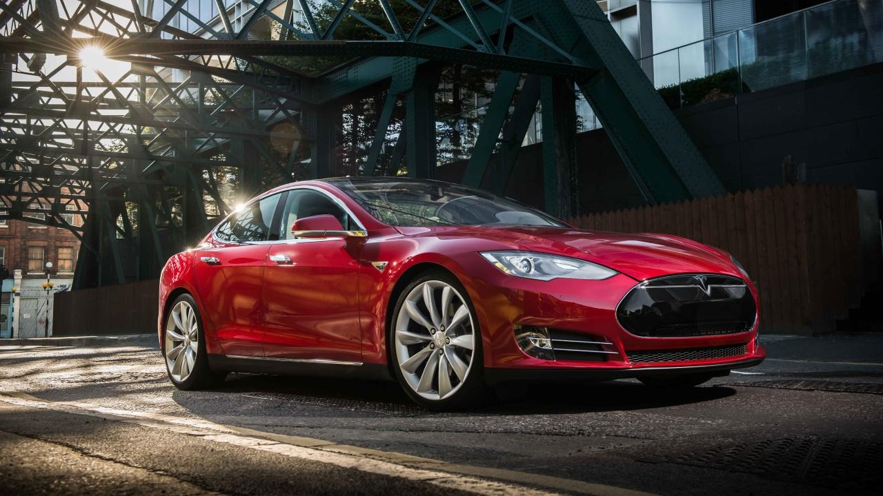2017 Tesla Model S HD Wallpaper   iHD Wallpapers 1280x720