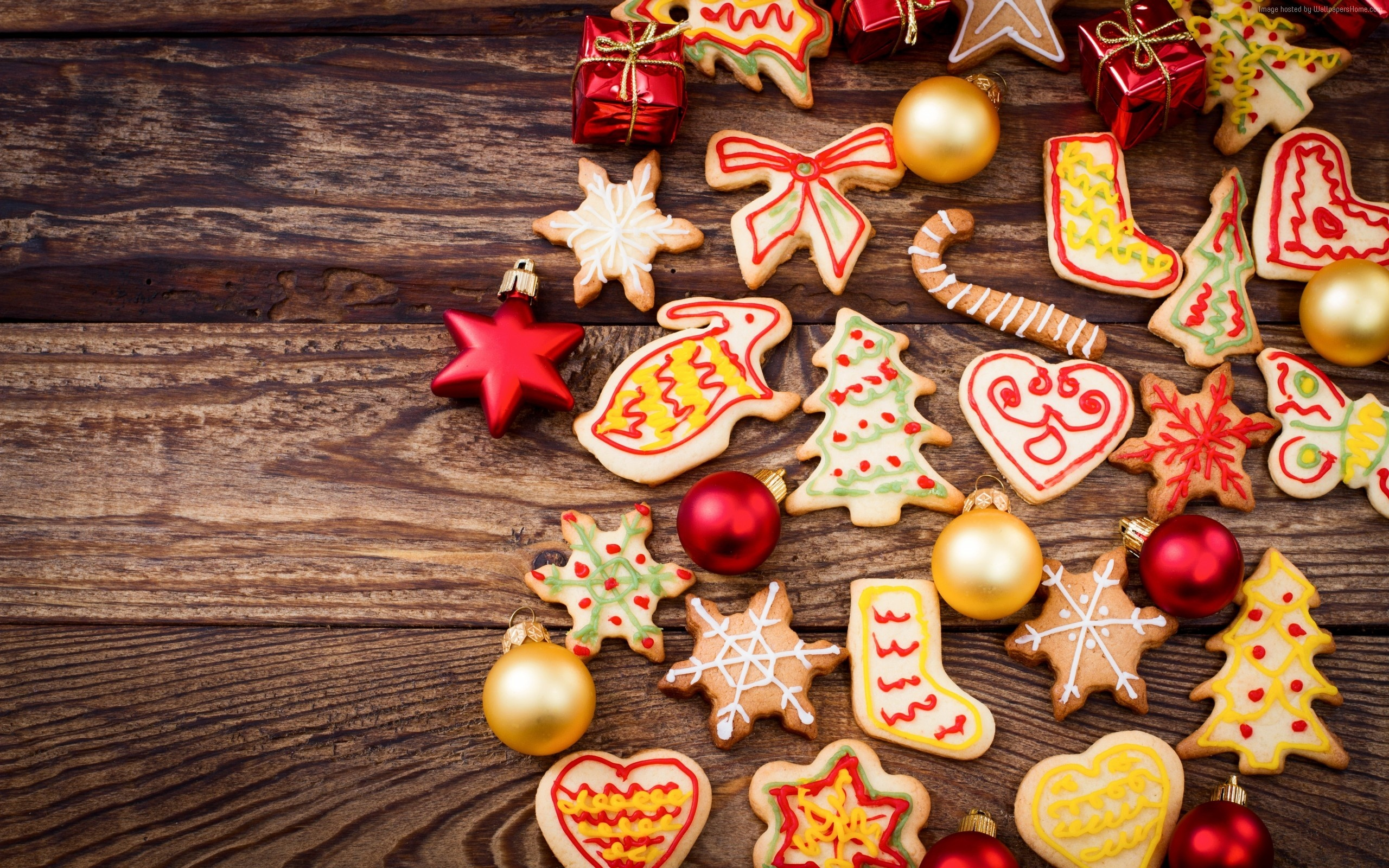 2560x1600 Baking Food Holiday Cookie Shape 2560x1600
