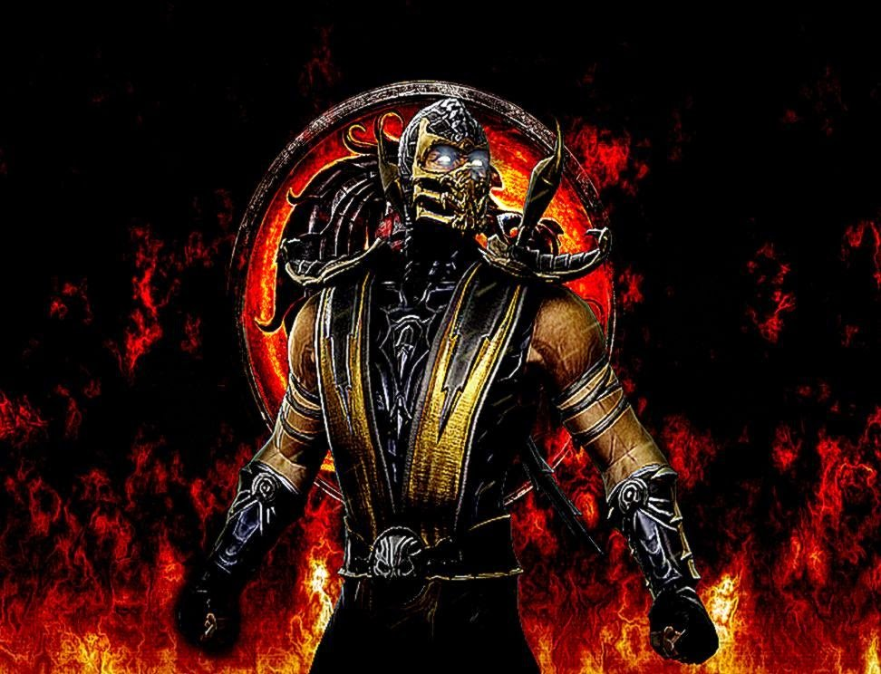 Mortal kombat scorpion wallpapers hd wallpapersafari - Mortal kombat scorpion wallpaper ...