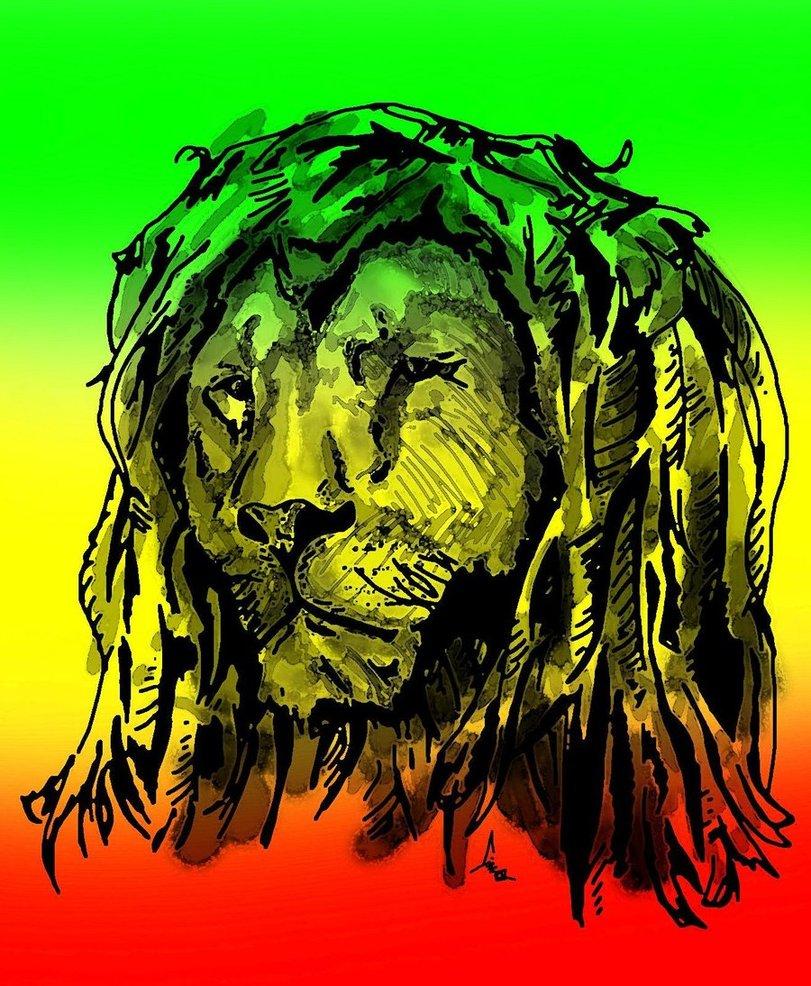 [42+] Reggae Lion Wallpaper on WallpaperSafari Rasta Lion Wallpapers