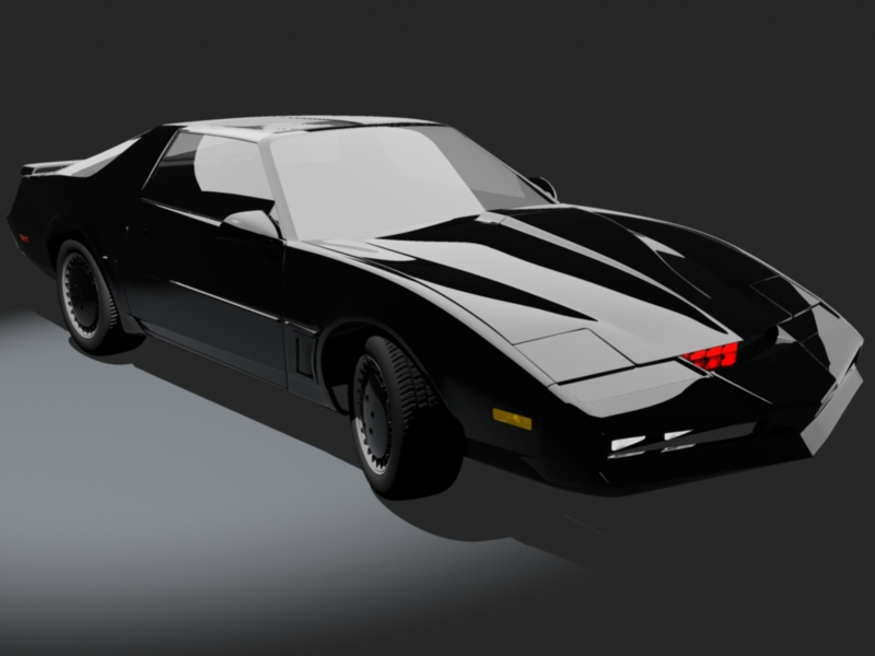 Knight Rider KITT Art The Car Wallpapers 800x600