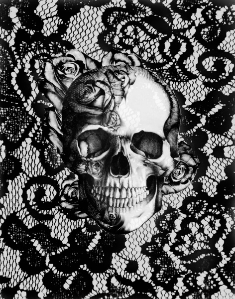 72 Black Skull Wallpaper On Wallpapersafari