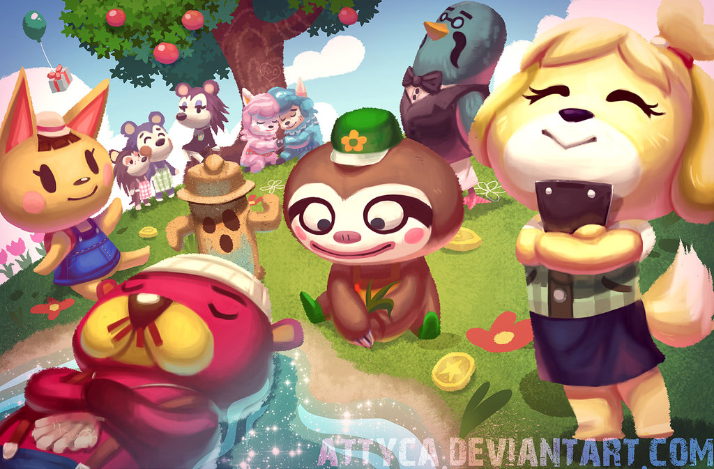 Free Download Top Animal Crossing New Leaf Wallpapers 1024x673