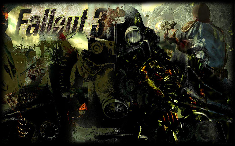 Title Tattered Fallout 3 Wallpaper 1440x900