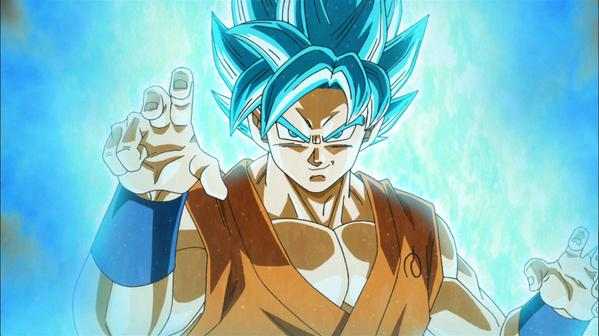 out the photos of Goku and Vegeta powered up and a promo of SSGSS Goku 599x336