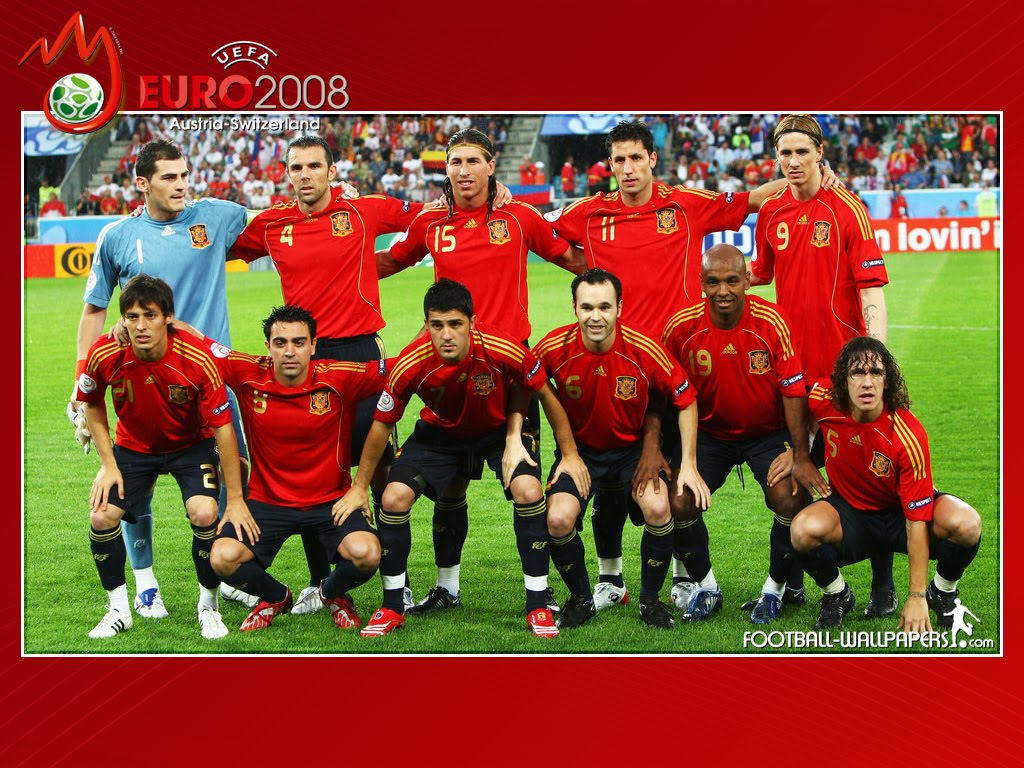 Spain Soccer Team Wallpaper 1024x768