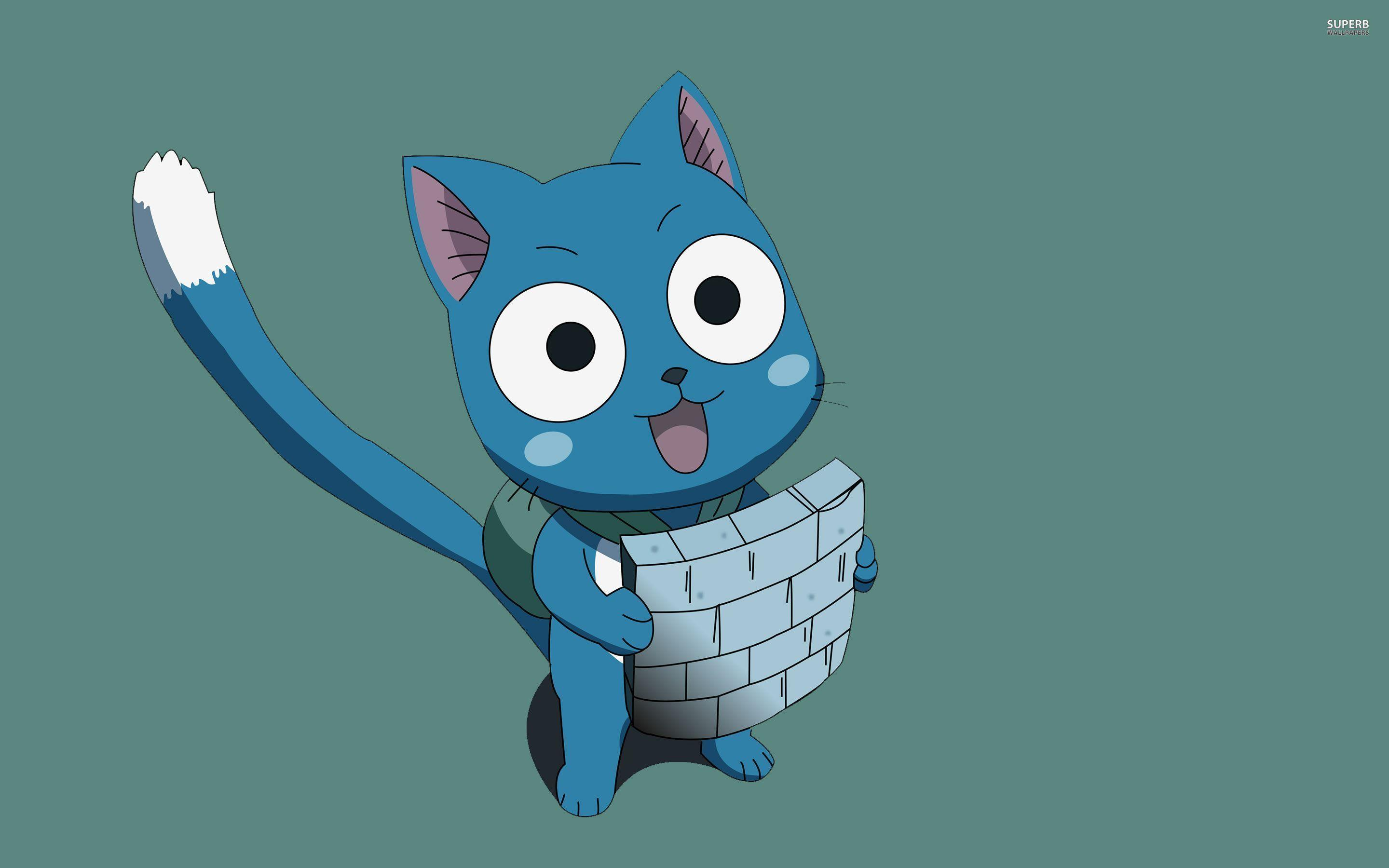 Fairy Tail Happy Wallpapers 2880x1800