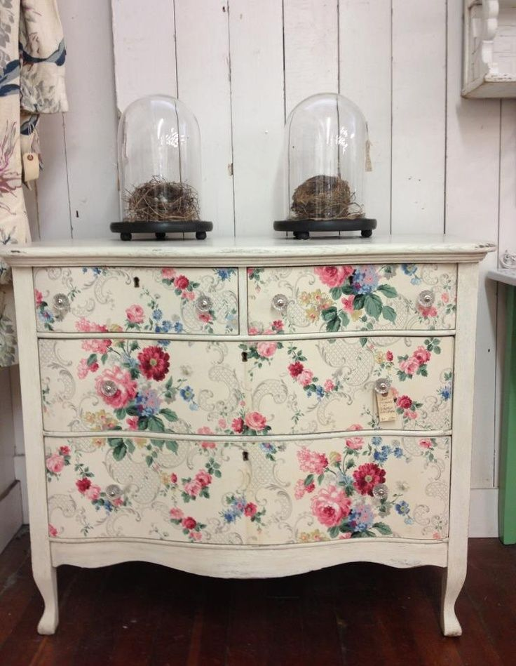 Pin by Angela Myres on For the Home Wallpaper drawers Furniture 736x949