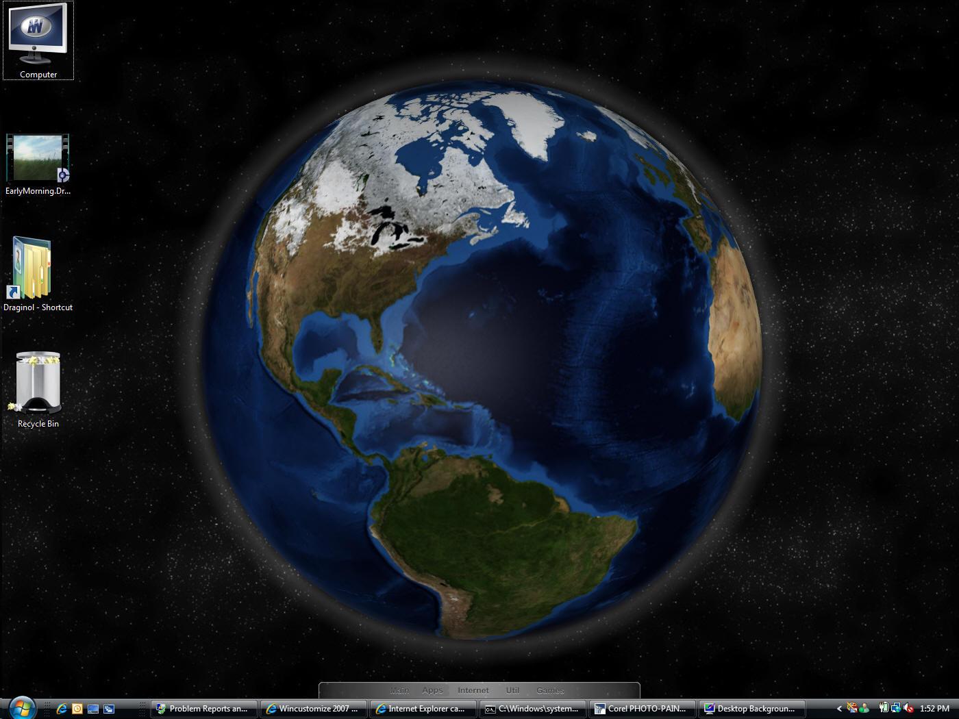 46 animated earth wallpaper on wallpapersafari - Anime moving wallpaper for pc ...