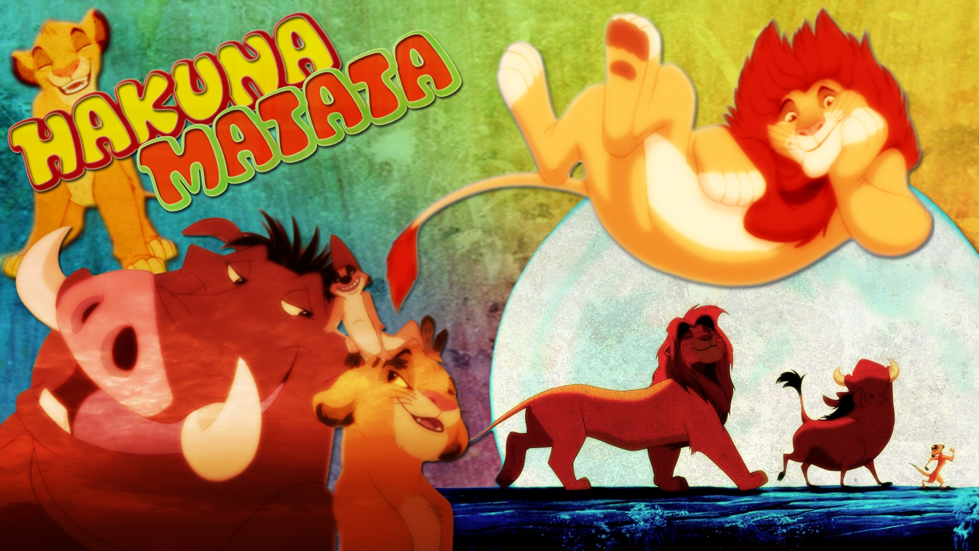 Hakuna Matata the lionking   Movies TV Shows Wallpaper 28234521 1920x1080