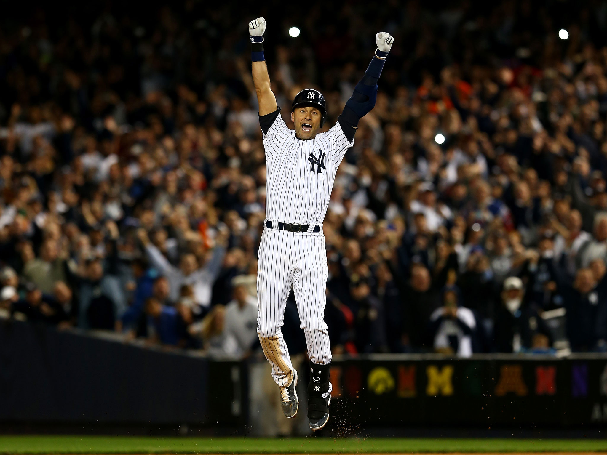97 Derek Jeter Wallpapers On Wallpapersafari