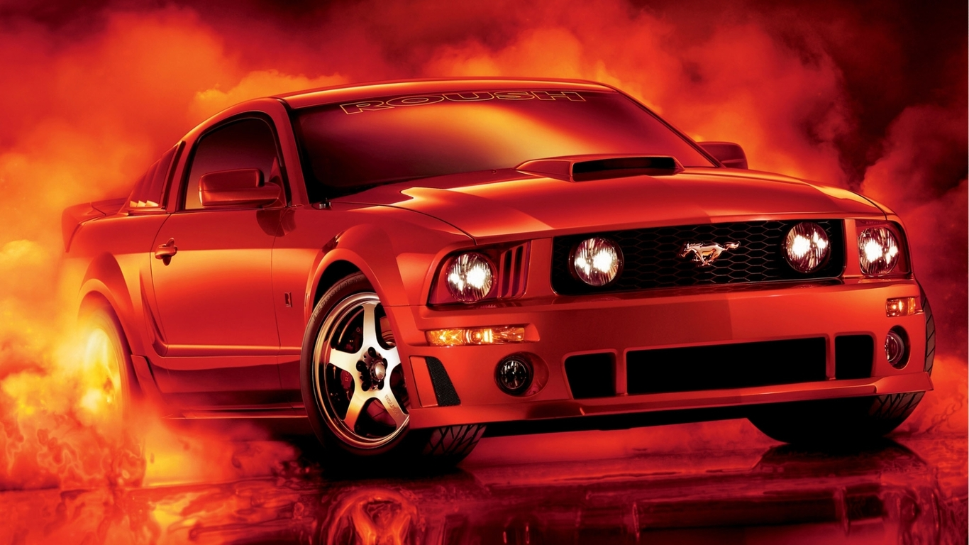 Best Collection of Mustang Wallpapers For Desktop Screens 1366x768