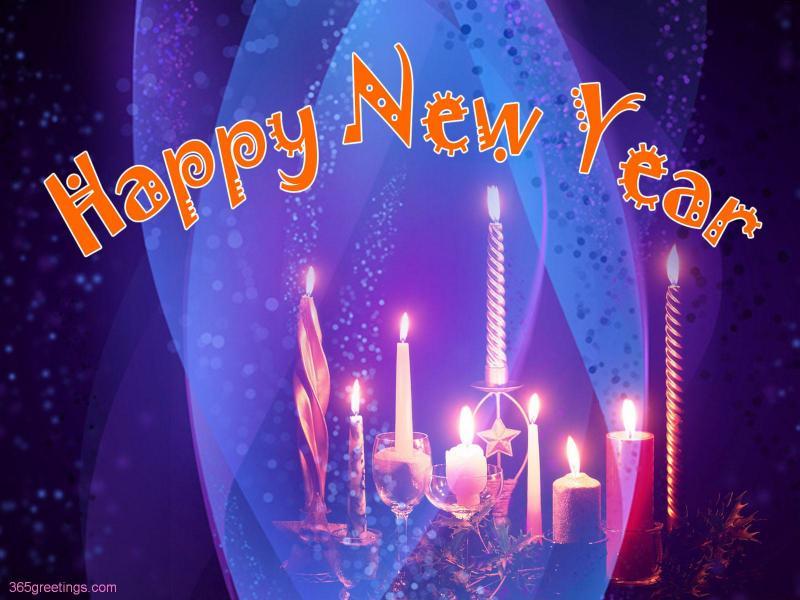 girlfriend Happy New Year Wallpaper   A Desktop New Year Wallpaper 800x600