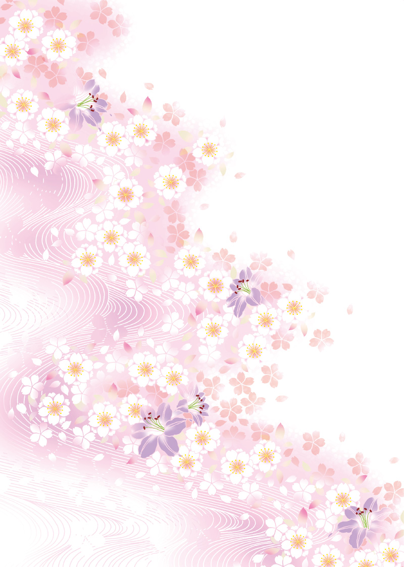 Pale Floral Background Vector Graphic Download 800x1122