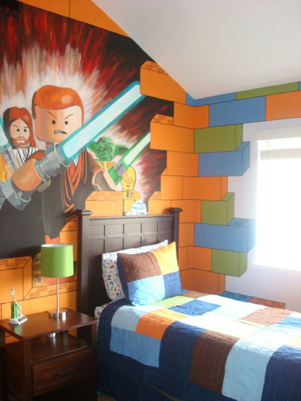 10 Best Kids Bedroom With Lego Themes Home Design And Interior 600x800