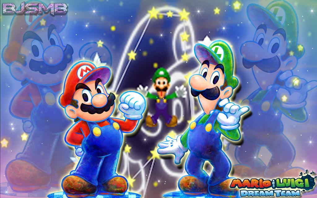 78 Mario And Luigi Backgrounds On Wallpapersafari