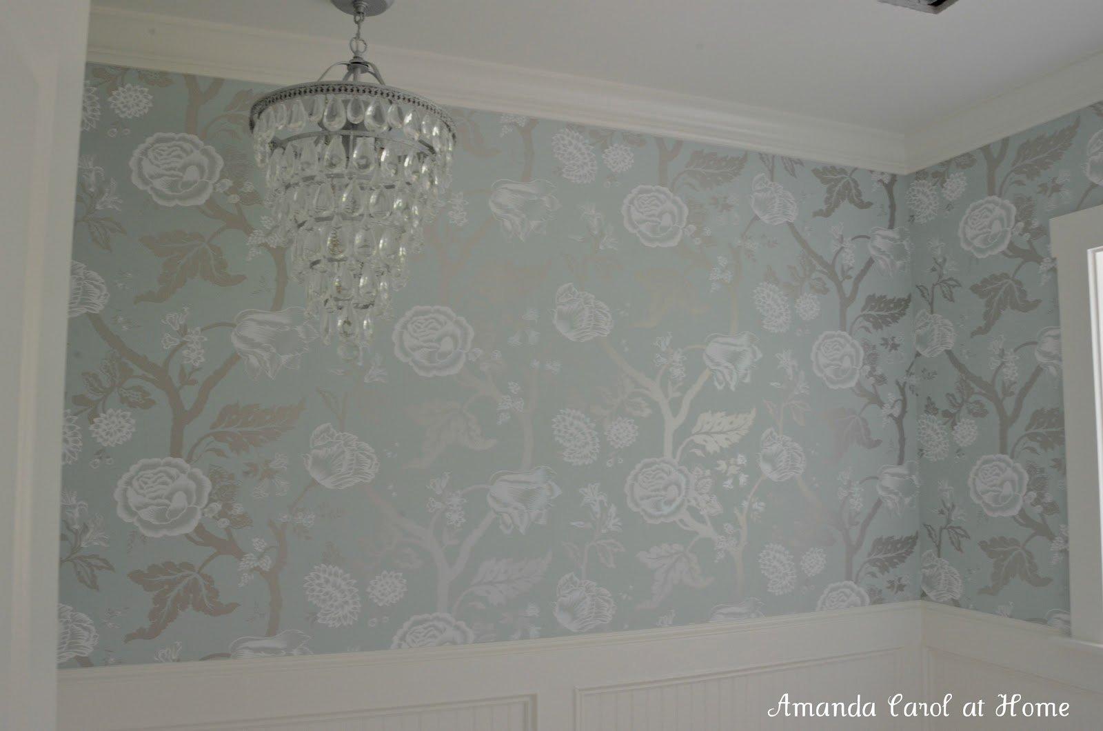 Wallpaper The Home Depot Sea Breeze Floral Trail Chandelier 1600x1060