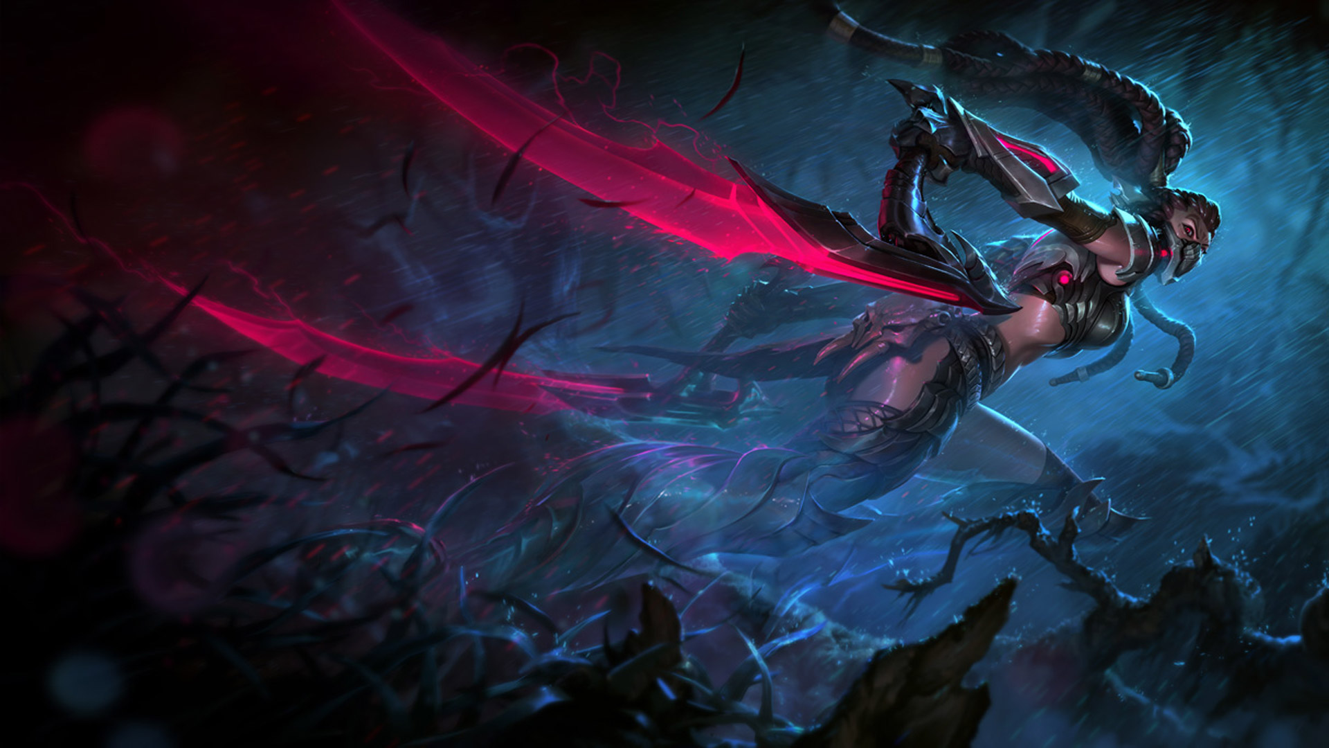 Headhunter Akali   League of Legends Wallpapers 1920x1080