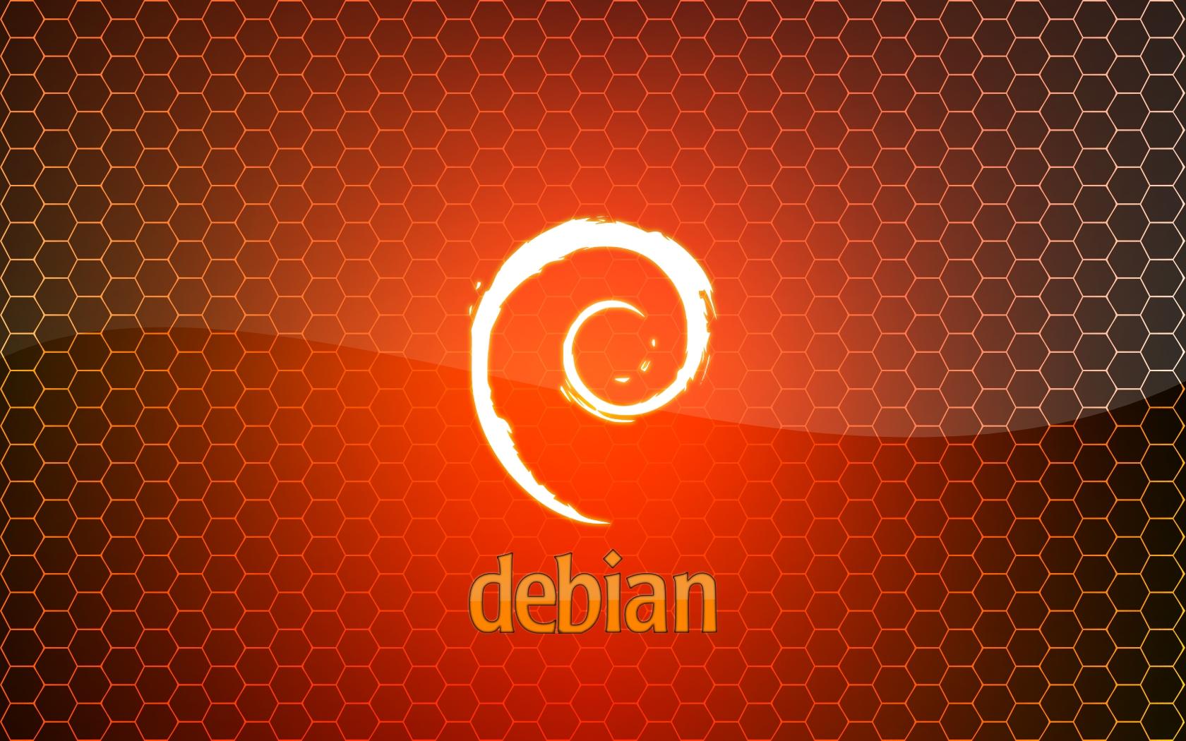 Debian Squeeze Wallpapers - Tux-planet