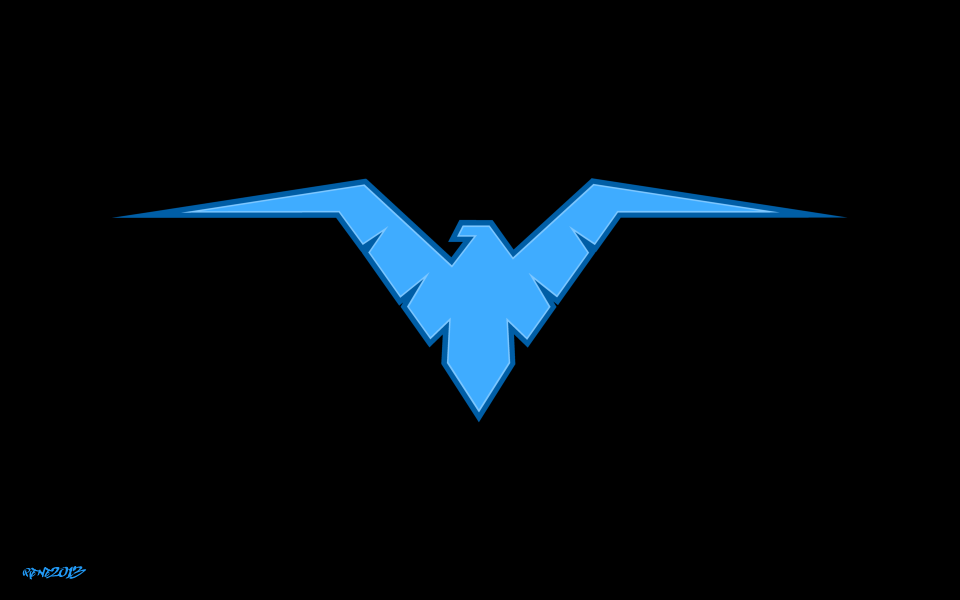 Nightwing   Logo Vector by elclon 960x600