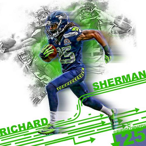 Richard Sherman 2013 Wallpaper Richard sherman 500x500