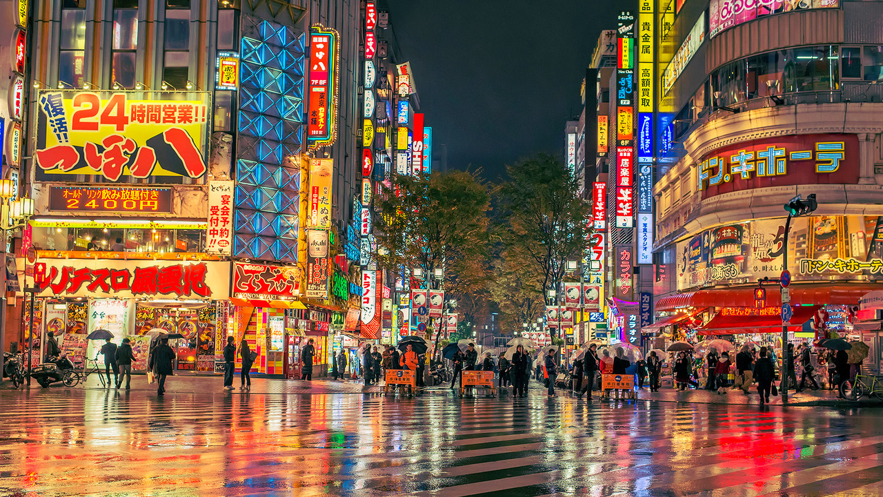 Tokyo City Fashion At Night Wallpaper 12236 Wallpaper ForWallpapers 1280x720