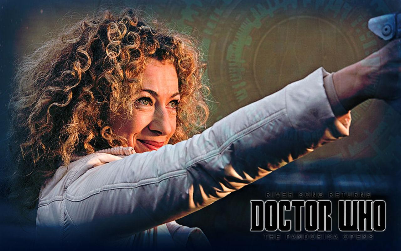 doctor who river song alex kingston HD Wallpaper   Music Dance 1280x800