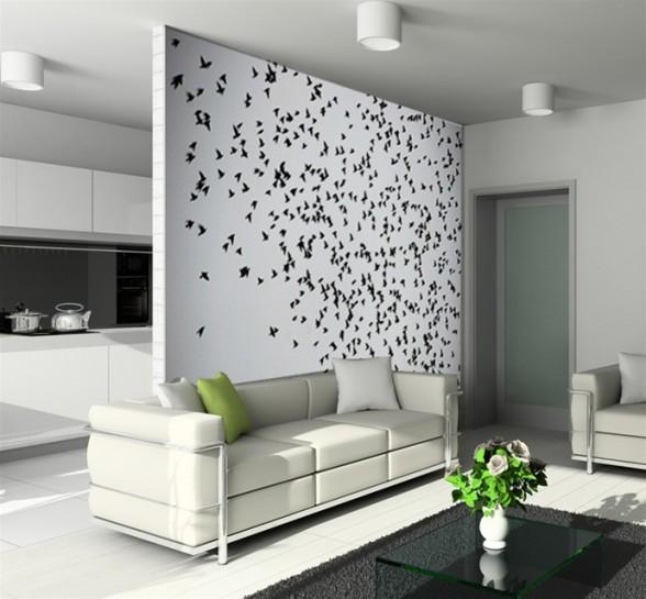 Interior Wallpaper Designs India 588x545