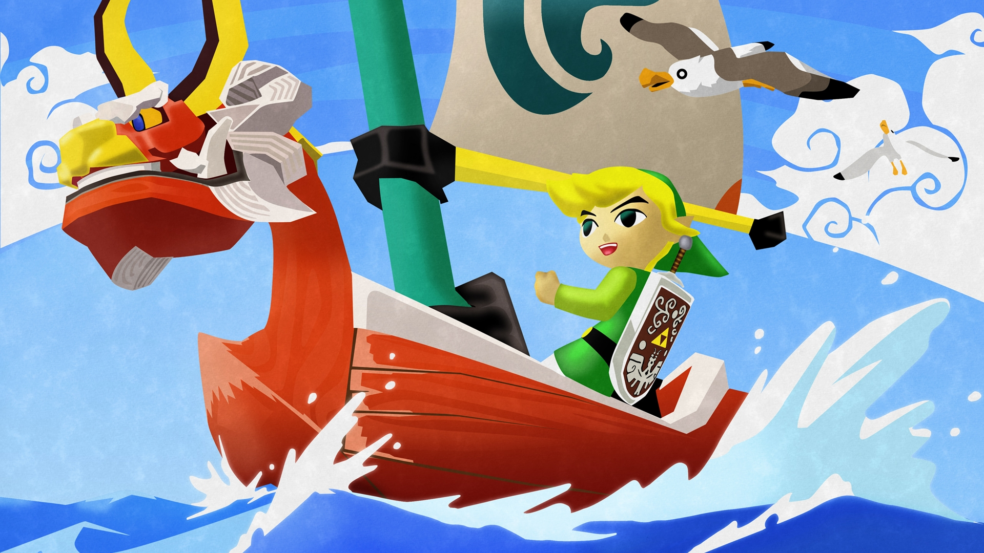 Free Download Zelda Wind Waker Hd Wallpaper Cool Wallpapers