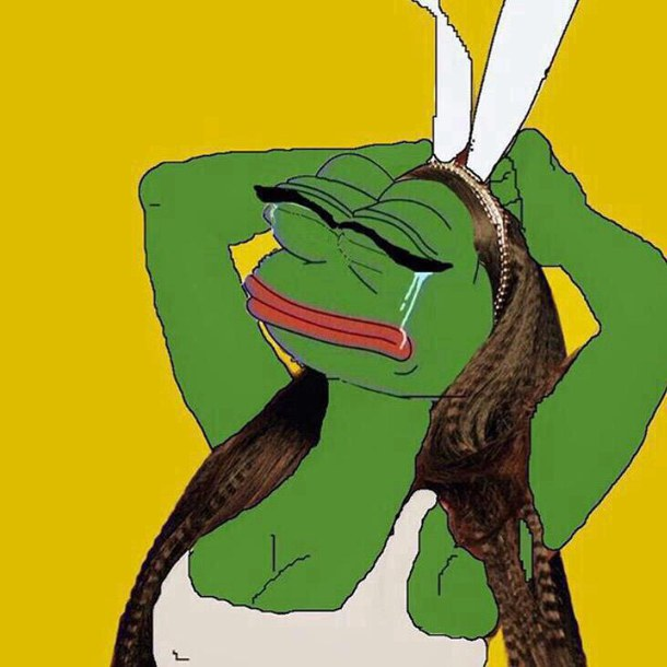 funny nicki pepe reaction pic rare pepe pepe the frog   image 610x610