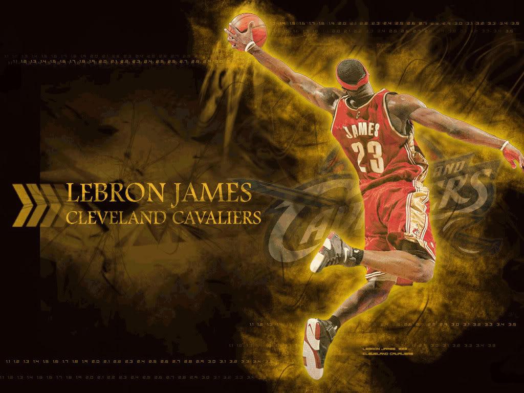 LeBron James Cleveland Cavaliers Wallpaper   LeBron James Cleveland ...