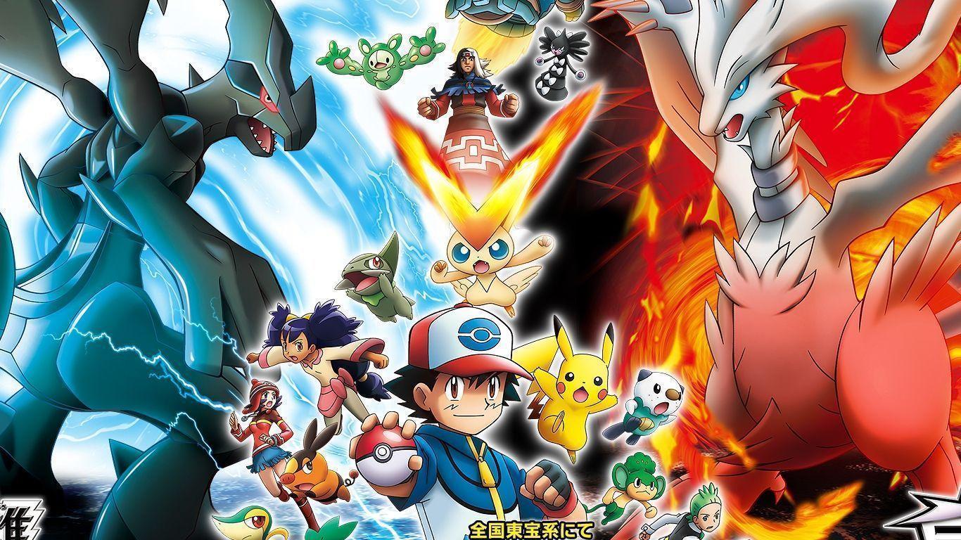 Legendary Pokemon Backgrounds 1366x768