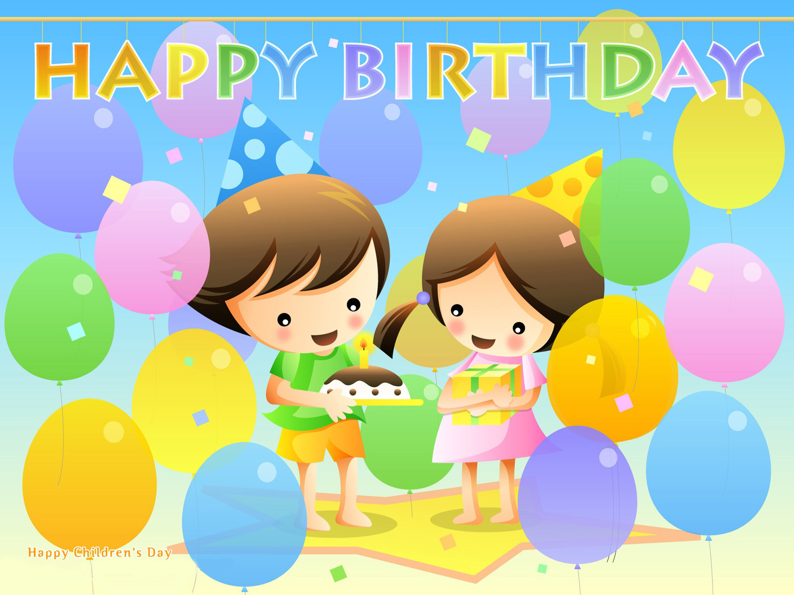 Happy Birthday Wallpapers HD Wallpapers 1600x1200