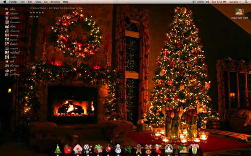 49 christmas tumblr theme wallpaper